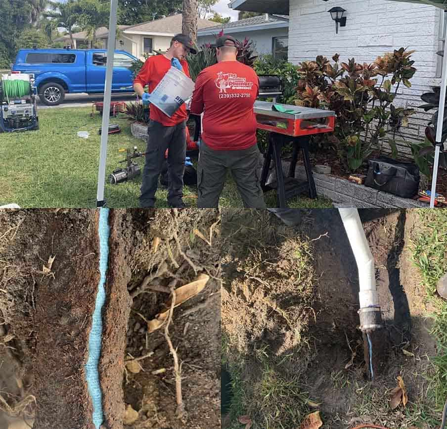 trenchless sewer repair in North Fort Myers, FL