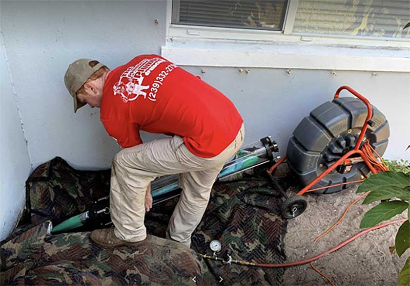 trenchless sewer repair in Fort Myers, FL